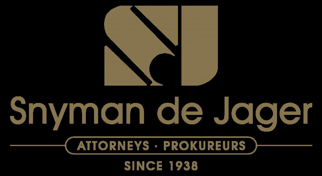 Snyman de Jager Logo Gold png
